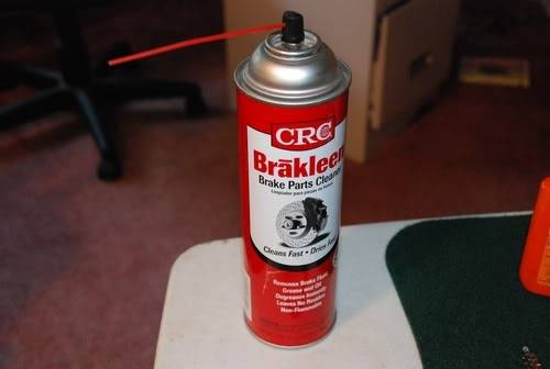 CRC Brake Cleaner for Gun Cleaning