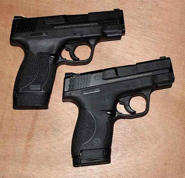 A Range Review of the Smith And Wesson, M&P Shield  45 ACP