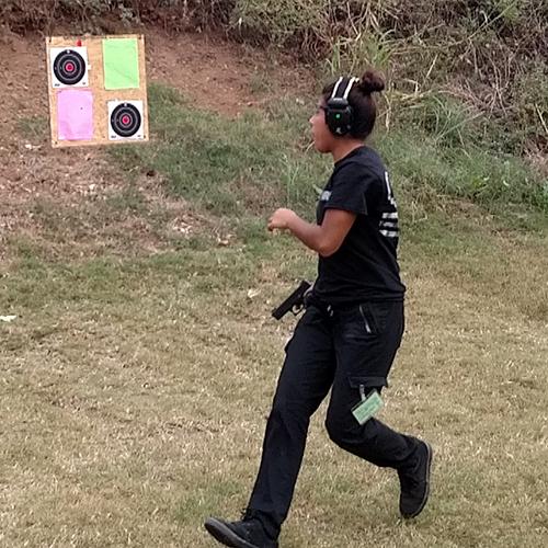 Defensive firearms training