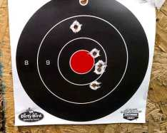Target Results For Taurus Tracker .44 Magnum - 4 Inch Barrel