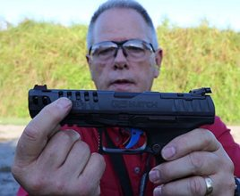 Walther Q5 Pistol slide serrations and cutouts