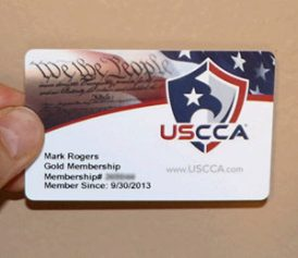 USCCA Membership Card