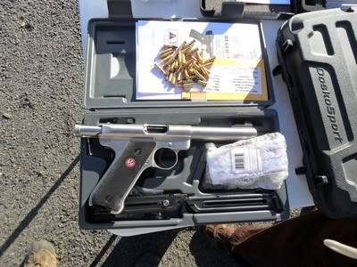 Ruger Mark III .22 Pistol  in the box with