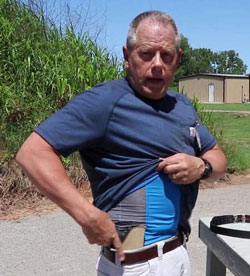 Using a Sticky Holster For CCW