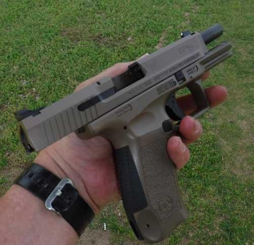 Canik TP9SF Pistol Open