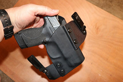 Clinger Holster With S&W Shield For CCW