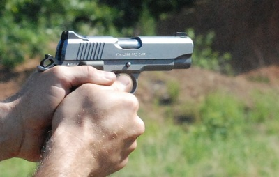 Kimber Pro Carry II .45ACP Two Hand Grip
