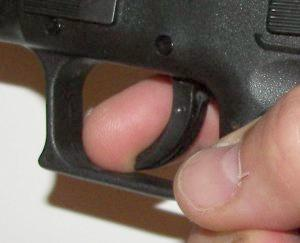 Finger Placement On A Pistol Trigger