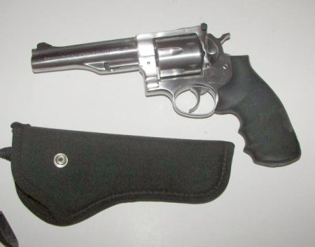 Stainless Steel Ruger Redhawk with 6 inch barrel picture