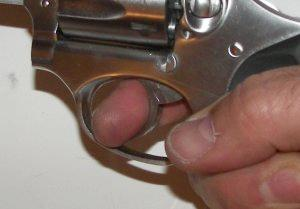 Finger Placement On A Revolver Trigger
