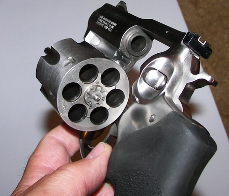 Ruger Alaskan .44 magnum revolver picture. The Ruger Alaskan .44 magnum is a