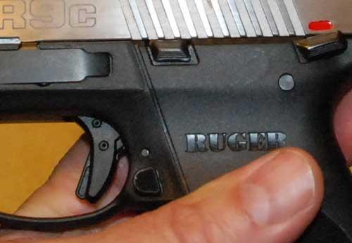 Ruger SR9C 9mm Trigger Safety