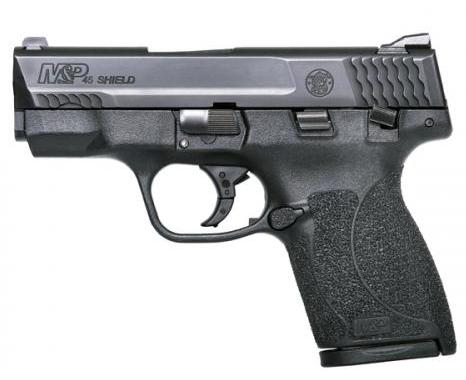 Smith and Wesson Shield in 9mm, .40 S&W, or .45 ACP
