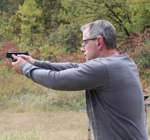 On the range with the Military and Police Shield 9mm