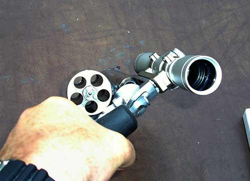 S&W 500 Magnum Cylinder Open