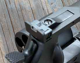 Taurus Tracker .44 Magnum Adjustable Rear Sight