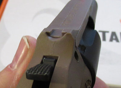 Taurus M605 Rear Sight Picture
