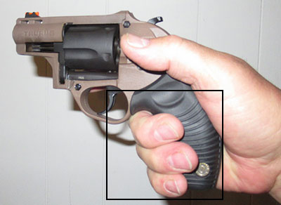 Full Grip On Taurus M605 .357 magnum picture