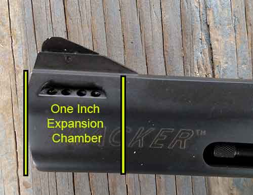 Taurus Tracker .44 Magnum Ported  Expansion Chamber