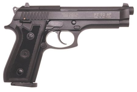 Taurus PT92 9mm Pistol Side View