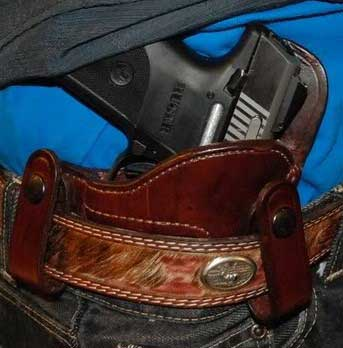 Front Line Tuckable Holster For CCW