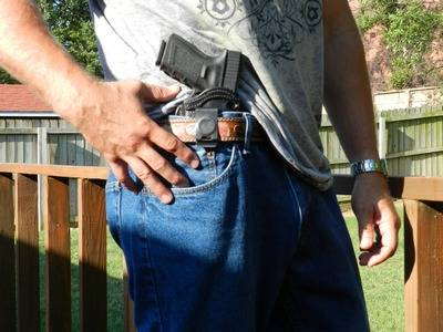 Front Line Holster for GLOCK In Waistband