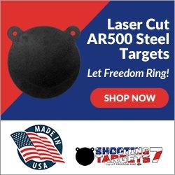 Laser Cut AR500 Steel Ad
