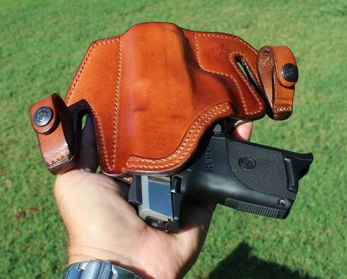 Front Line Tuckable Holster In Hand