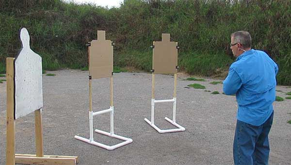 3 silhouette targets