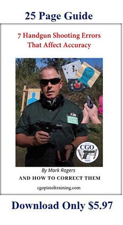 7 Errors In Handgun Shooting