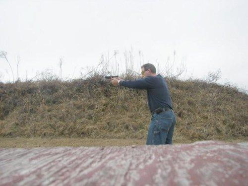 Shooting the GLOCK 34 9mm pistol
