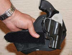 J Frame in an ankle holster