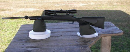 Remington 700 ADL .279 Winchester set up on support bags