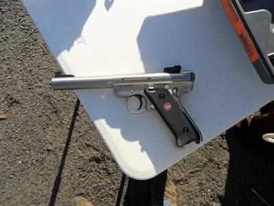 Ruger Mark III .22 Pistol Side