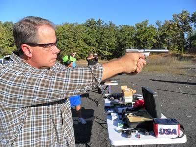 Shooting The Ruger Mark III .22 Pistol