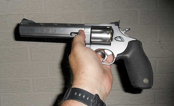 Original Taurus Tracker .357 Magnum In Hand