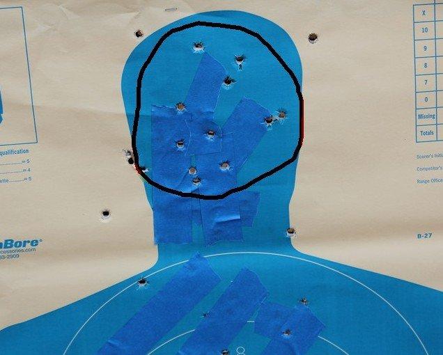 Beretta 96-A1 Tactical Accuracy