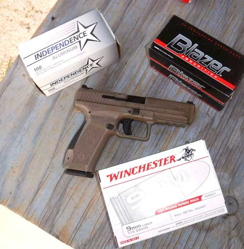 Ammo Used In the Canik TP9SF 9mm Pistol