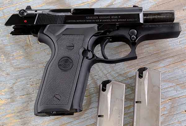 Stoeger Cougar .40 Cal Handgun Open Slide
