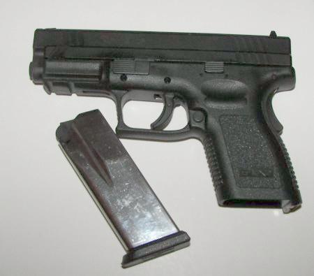 Springfield XD .45 ACP Side Controls