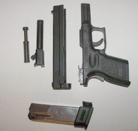 Springfield XD Disassembled