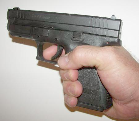 Springfield XD .45ACP In Hand