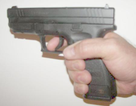 Springfield XD .45 Trigger Reach