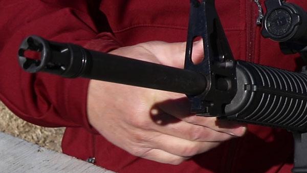 Ruger AR-556 flash suppressor
