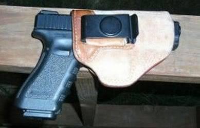 GLOCK 22 in iwb holster