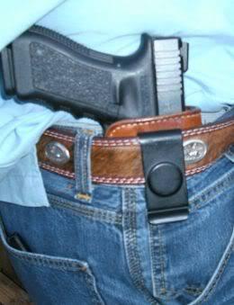 GLOCK pistol iwb