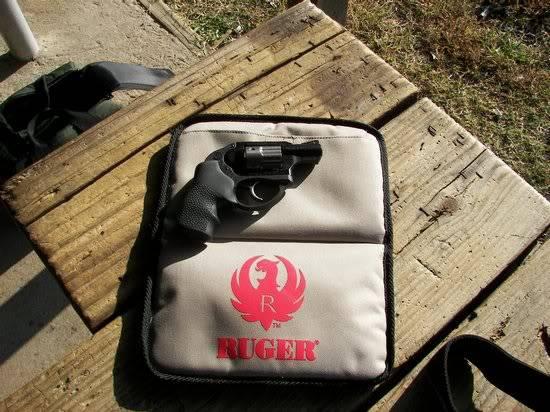Ruger LCR .38 Spl + p Revolver in Case