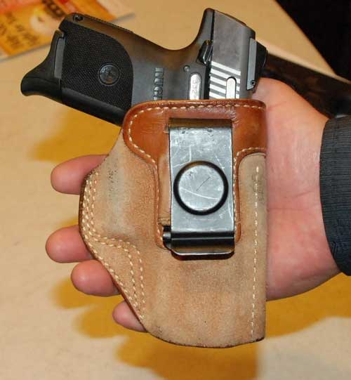 Ruger SR9C 9mm Pistol And Holster