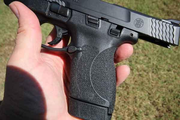 S&W Shield grip texture
