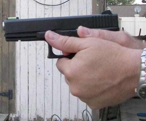 Correct Competition Grip Of A Pistol